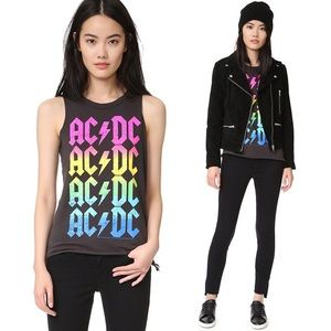 Chaser AC/DC Ombré Tank